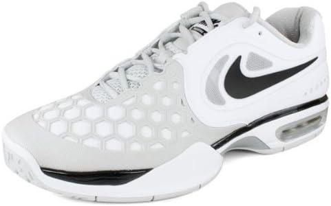 Comparar Noveno Melancolía  Amazon.com | Nike Air Max Ballistec 4.3 Court Shoes - 15 - White | Tennis &  Racquet Sports