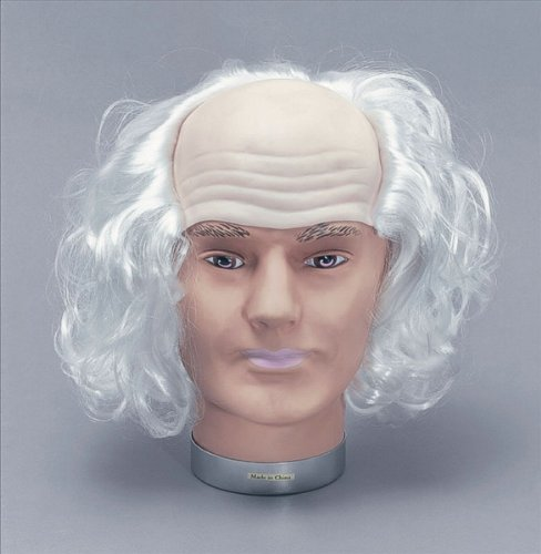 [Old Man Headpiece With Hair] (Old Wigs)
