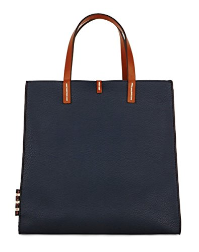 Manila Grace Felicia Bag borsa medium Tote colore blu