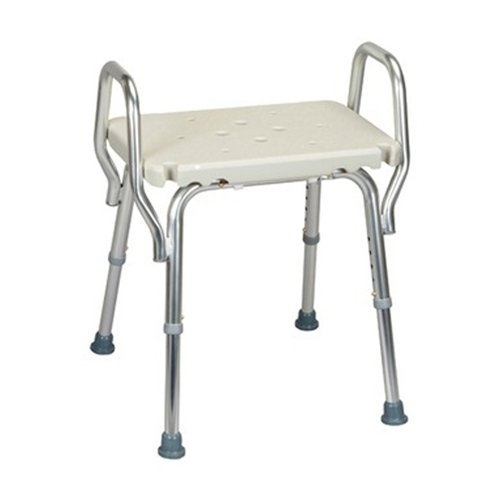 Amazon.com Shower Chair with Backless Molded Seat and Arms Health u0026 Personal Care  sc 1 st  Amazon.com & Amazon.com: Shower Chair with Backless Molded Seat and Arms: Health ...