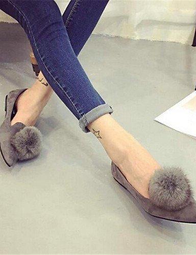 PDX tal mujer de ante zapatos de BqYwrB