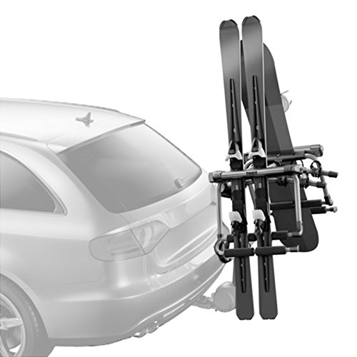 Jeep Ski and Snowboard Carrier-Spare Tire Mounted (Ski Tire Rack Jeep)