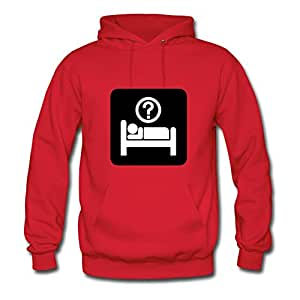 Hotel Information Sign (inverted) Lynsnyd Hoodies Casual Women Lovely Red