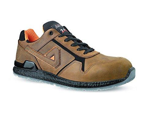 AIMONT , Chaussures de sécurité pour homme Marron marron foncé 42