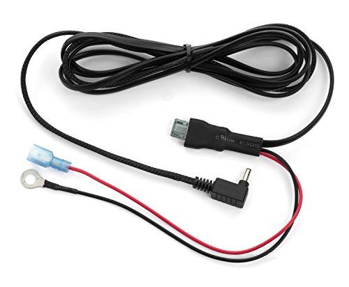 Radar Mount Direct Hard Wire Power Cord For Cobra Radar Detectors w/ Inline Fuse