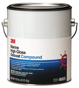 3M COMPOUND for HIGH GLOSS GELCOAT by 3M