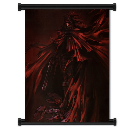 Final Fantasy VII: Dirge of Cerberus Game Fabric Wall Scroll