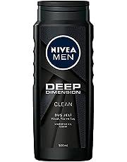 Nivea Men Deep Dimension Duş Jeli, 500 ml