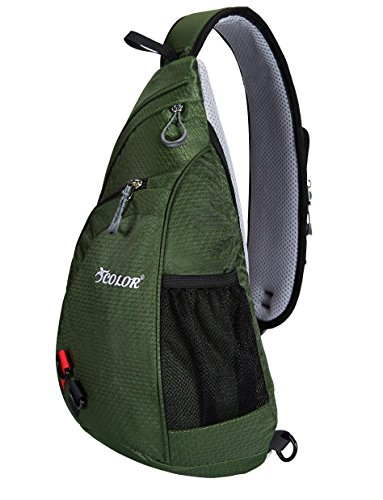 iColor Backpack Crossbody Triangle Shoulder