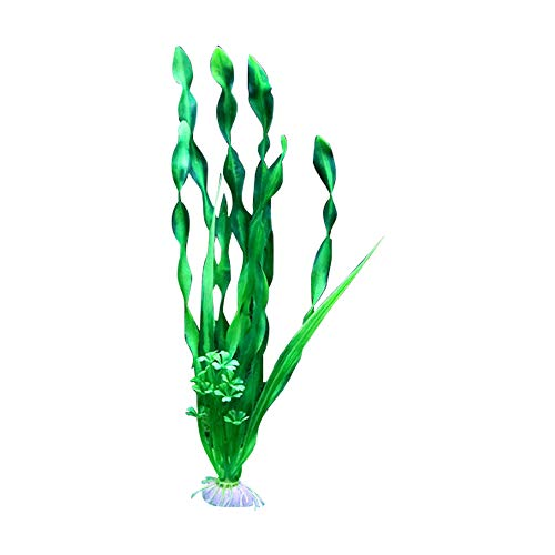 EudoUS 10 PCS Artificial Seaweed Water Plants for Aquarium, Plastic Fish Tank Plant -