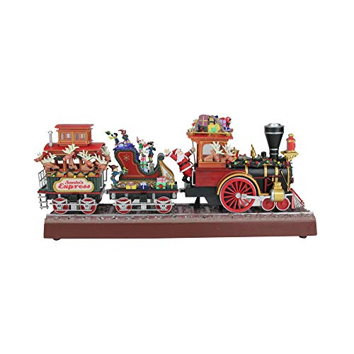 Mr. Christmas Animated Musical Lighted Santa's Express Decoration ()