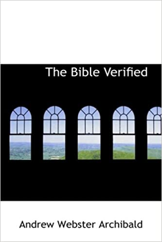 Book The Bible Verified