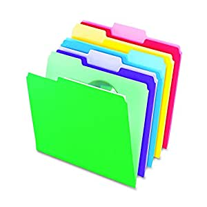 Pendaflex Letter Size File Folders with InfoPocket (Pack of 30)
