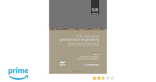 ice manual of geotechnical engineering 2 vol set ice manuals john rh amazon com ice manual of geotechnical engineering free download ice manual of geotechnical engineering scribd