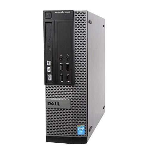 Dell Optiplex 9020 Small Form Desktop, Quad Core i7 4770 3.4Ghz, 8GB DDR3 RAM, 256GB SSD Hard Drive, DVD-RW, Windows 10 (Renewed)
