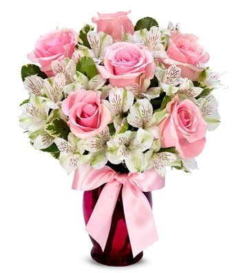 Magic of Pink - Same Day Get Well Soon Flowers Delivery - Get Well Soon Flowers - Get Well Bouquet - Sympathy Flowers - Get Well Soon Presents