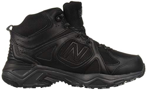 New Balance Men's 481 V3 Cushioning Trail Running Shoe Black/Magnet 1.5 D US by New Balance (Image #7)