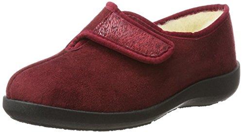Totie bordo Rosso Donna 37 7510330 Fargeot Pantofole A8q1apqvn