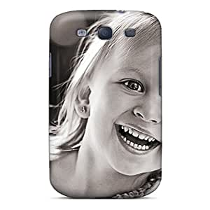 Ksander Scratch-free Phone Case For Galaxy S3- Retail Packaging - Cute Girl Smiling