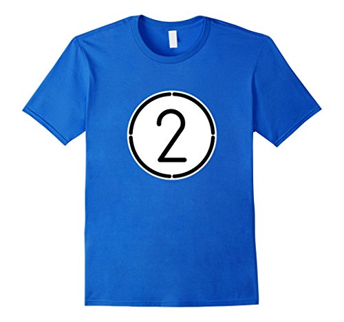 Funny 2 Man Halloween Costumes (Mens Blue 2 Ball Pool Funny Halloween Group Costume Gift T-Shirt Small Royal Blue)