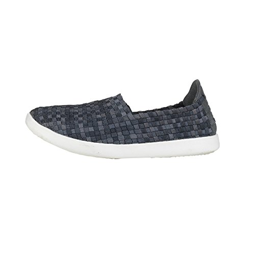 Dude Shoes Women's E-Last Simple Carbon Fade Slip On Black WmD1rtV6Vd