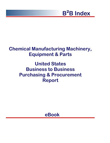 Chemical Manufacturing Machinery, Equipment & Parts United States: B2B Purchasing + Procurement Values in the United States