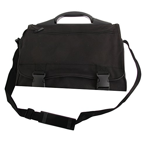 Bolso bandolera Kansas Shugon/ordenador portátil, 13 litros negro