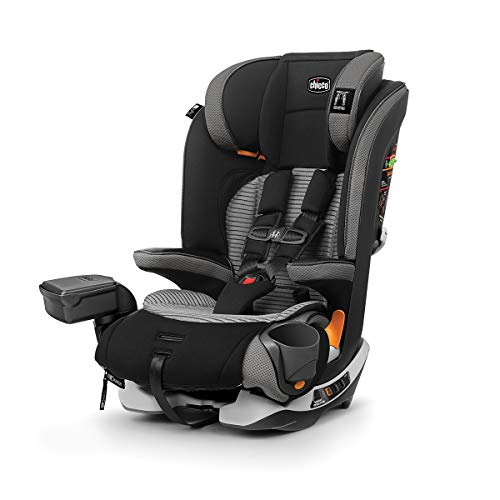 Chicco MyFit Zip Air 2 in 1 Harness + Booster Car Seat for Toddlers and Big Kids, 5 Point Harness, Belt Positioning Booster, Zip and Wash Fabrics, 3D