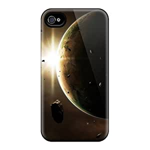 Fashion Mdc4146yoUr Cases Covers For Iphone 4/4s(outer Space Planets Cosmos Universe)