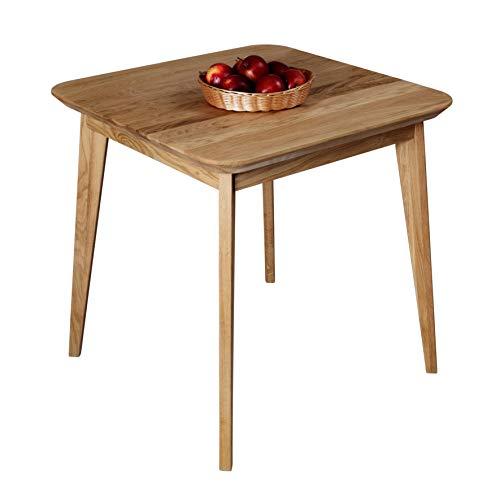 Krok Wood Tavoli da Pranzo in Legno di Rovere Paris, Natural ...