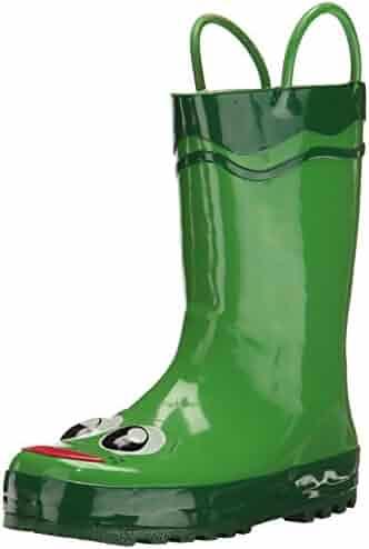 Western Chief Kids Boys' Waterproof Easy-On Printed Rain Boot