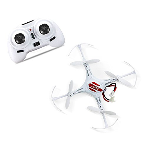 Remote Control Helicopter Drone Mini Quadcopter RC Toy Remote Control Aircraft 4 Channel 2.4GHz 6-Axis Gyro Helicopter With LED Headless Mode Hexacopter White (Remote Control Toy Helicopters)