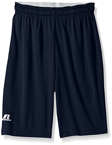 (Russell Athletic Boys' Big Dri-Power Performance Short with Pockets, Navy, XL)