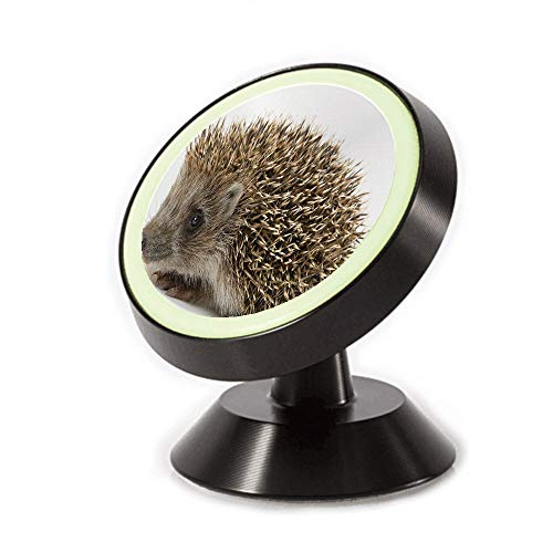 (Magnetic Dashboard Cell Phone Car Mount Holder,Spiked Hair on Its Back and Sides Wildlife,can be Adjusted 360 Degrees to Rotate,Phone Holder Compatible All Smartphones)