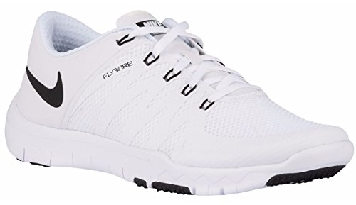 Nike Men's Free Trainer 5.0 v6 White / Black / Cool Grey Mesh Cross-Trainers Shoes 11.5 D(M) US