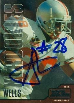 Jonathan Wells autographed football card (Ohio State Buckeyes Houston Texans) 2002 Upper Deck #531 - Buckeyes State Football Ohio 2002