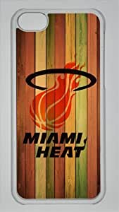TYHde NBA Miami Heat Custom PC Transparent Case for iPhone 5C by icasepersonalized ending