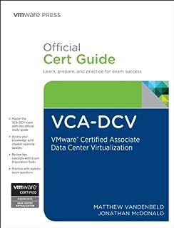 Amazon vsphere 6 foundations exam official cert guide exam vca dcv official cert guide vmware certified associate data center virtualization vmware fandeluxe Gallery