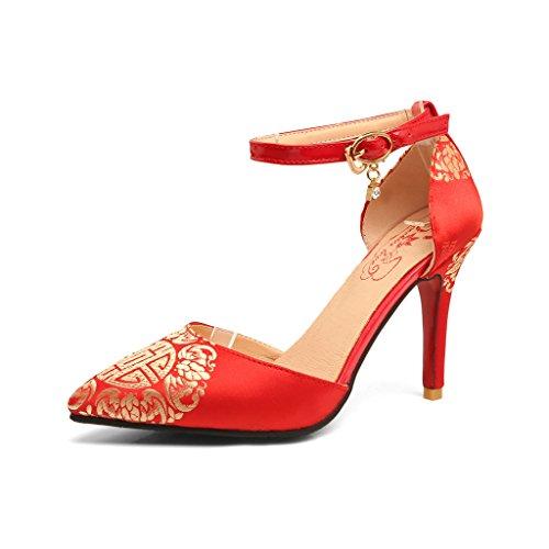 Zeppa Sandali Donna Con Generc Red ZME1qwUSv