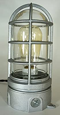 Industrial Explosion Proof Touch Dimmer Desk Lamp Steampunk Light #71