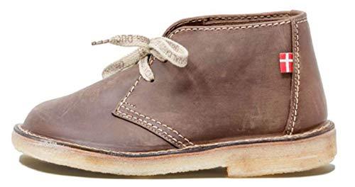 Duckfeet Sjælland Unisex Leather Desert Boot(Cocoa,37 M EU)