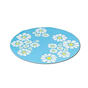 Silicone Pad Non-Slip Mat for 1.6 L Automatic Flower Water Fountain 12V Pet Waterer Safe Drinking Filter Bowl for Dogs… Click on image for further info.
