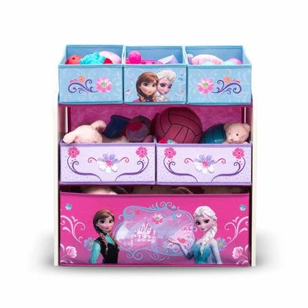 Disney Frozen Multi-Bin Toy Organizer This Frozen-themed piece features the favorite princesses Elsa and Anna from the movie. (Frozen Multi Bin Organizer compare prices)
