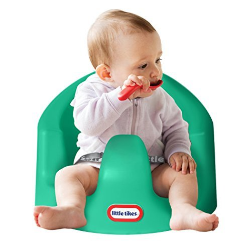 Little Tikes My First Seat Baby Infant Foam Floor Seat Sitting Support Chair, Teal