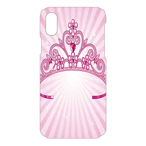 Phone Case Compatible 3D Printed 2018 Apple iPhone Xs MAX DIY Fashion Picture,Costume Print Crown Diamond Image Art,Lovely Personalized Hard Plastic Phone Case Fashion Stylish -