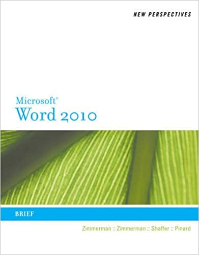 New Perspectives On Microsoft Word 2010 Brief New Perspectives