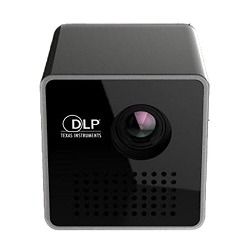 LOUSHI New DLP Mini WiFi Projector Portable Projector Video Multimedia Home Business by LOUSHI