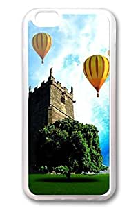 DDJK Case 6 plus Case, iPhone 6 plus Case - Best Protector with Customized Design for iPhone 6 Plus Hot Air Baloons Crystal Clear Soft Rubber Case for iPhone Plus 5.5 Inches