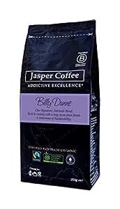 JASPER COFFEE Fairtrade Organic Billy Dunne Blend, 250 Grams