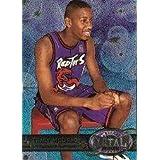 1997 Metal Universe Basketball Rookie Card (1997-98) #42 Tracy McGrady Near Mint/Mint